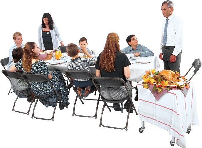 Overcoming Childhood Obesity By Dining Together