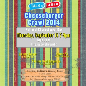 Allen Cheeseburger Crawl
