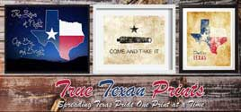 True Texan Prints on Etsy